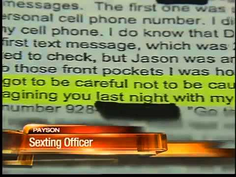 Police Officer Arrested For Sexting