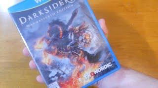 Darksiders Warmastered Edition (Wii U) UNBOXING