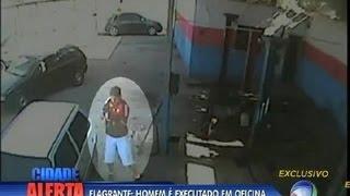 Flagrante: homem é assassinado em Nova Iguaçu (RJ)