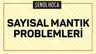 Sayısal Mantık Problemleri Şenol Hoca Matematik