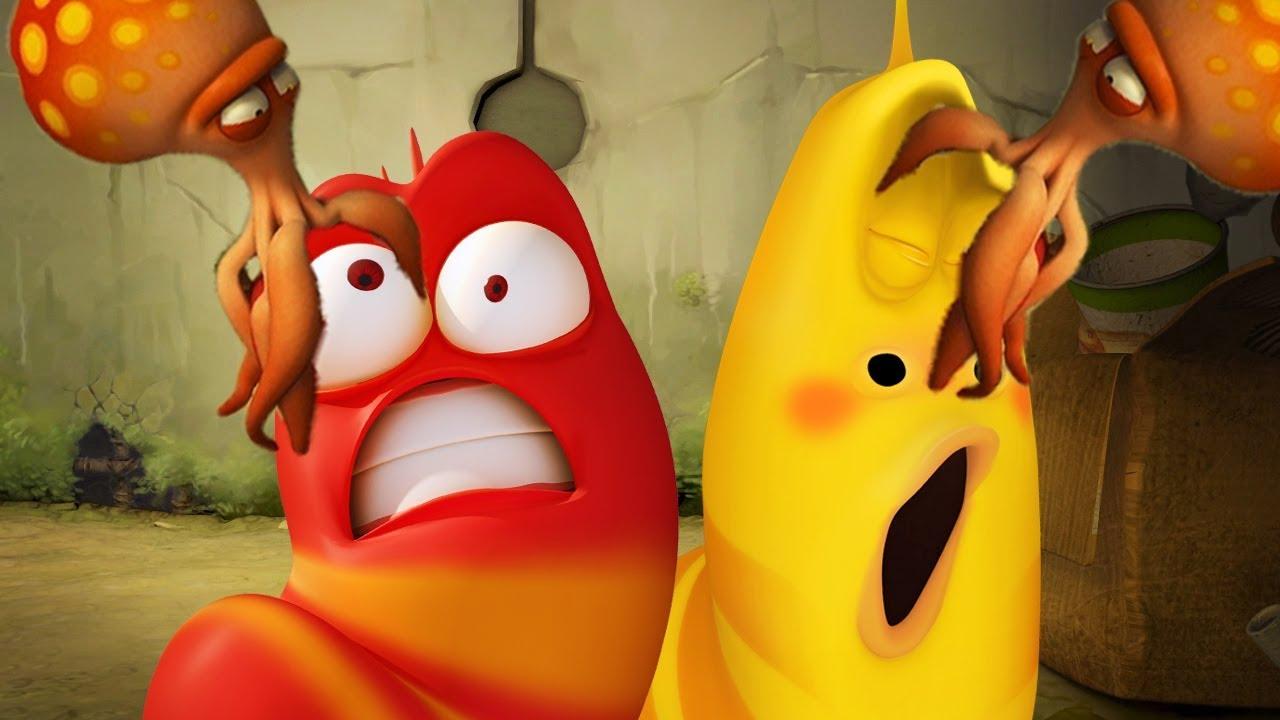LARVA - OCTOPUS ATTACK | Cartoon Movie | Cartoons For Children | Larva Cartoon | LARVA Official