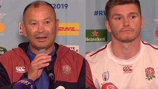 Eddie Jones questioned over George Ford drop || England vs Australia Rugby World Cup