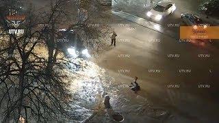 UTV. В Уфе на улице Бессонова сбили ребенка. Власти рассказали, когда она станет безопаснее