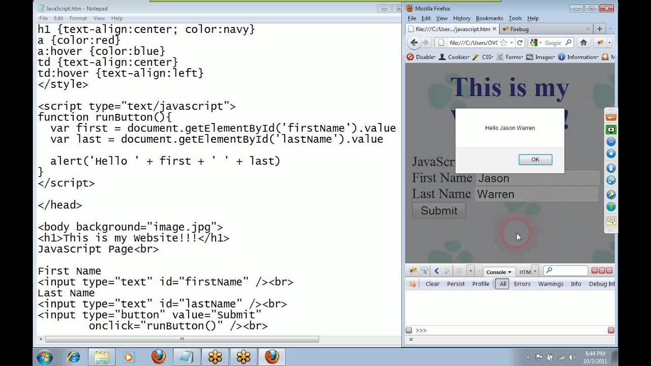 Introduction to Javascript Programming - YouTube