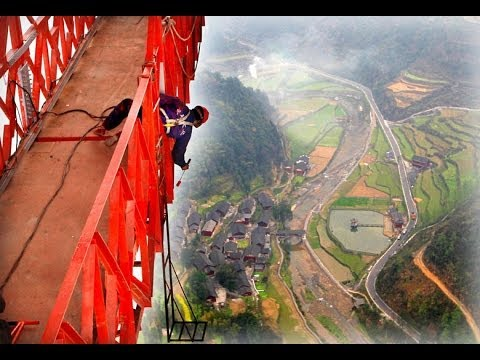 The Highest Bridge In The World / Aizhai Bridge / China - YouTube