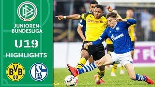 Borussia Dortmund - Schalke 04 2:0 | Highlights | A-Junioren-Bundesliga | Halbfinale Rückspiel