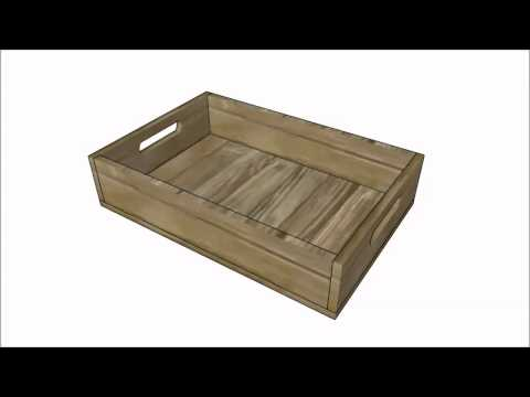Wood Tray Plans