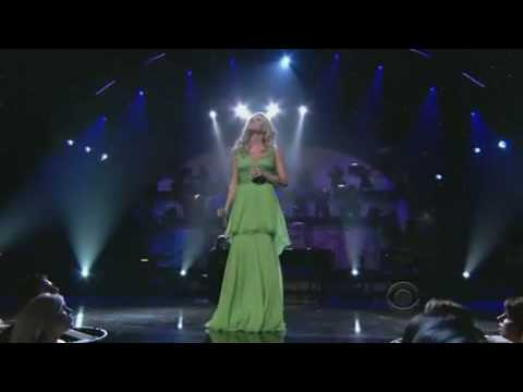 Carrie Underwood- I Know You Won't (Live At People's Choice Awards 2009)