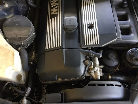 DIY e46 BMW fuel filter replacement
