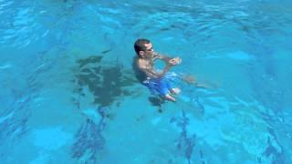 立ち泳ぎ( 踏み足  と  巻き足 )