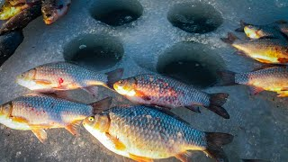 ТЕХНИКА ТАКТИКА ПОИСК Как найти карася на новом водоеме Ловля карася зимой