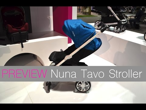 NEW! Nuna Tavo stroller ~ ABC Kids Expo 2015