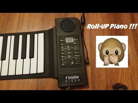 Unboxing: Roll-Up Piano!!!