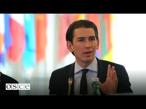 Interview with Sebastian Kurz at the 2016 Mediterranean Conf