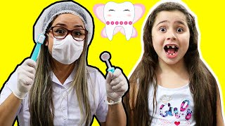 Heloísa e a historia da menina que não gostava de escovar os dentes