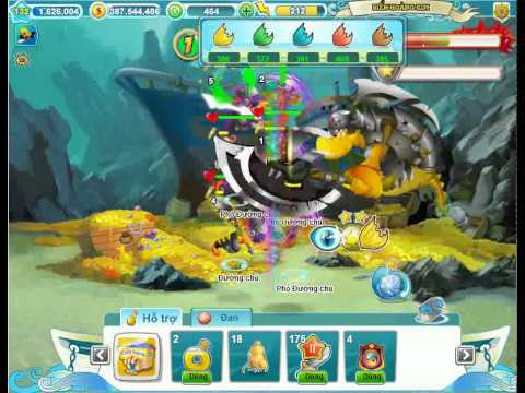 myFish đánh boss Hoàng Kim