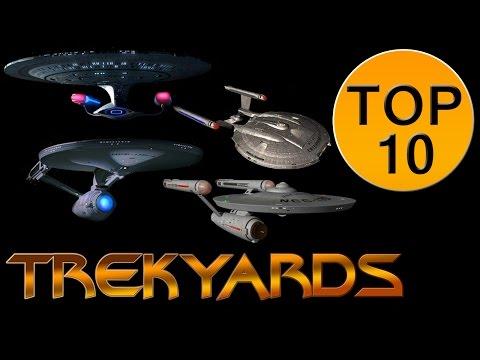 Trekyards Top 10 - Ship Design Eras