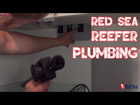 Red Sea Reefer 250 | Setting up the tank | Installing the Plumbing