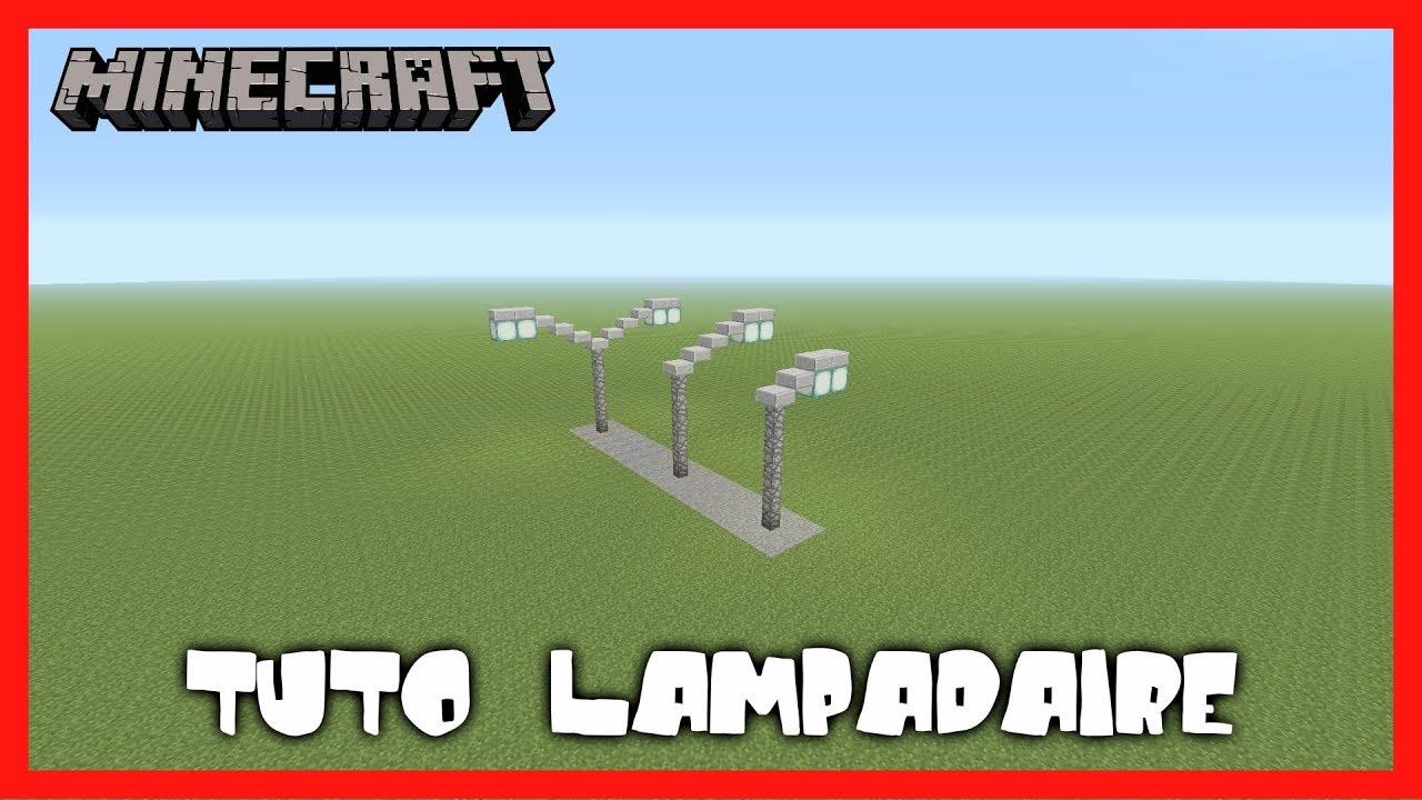 Minecraft Tuto Lampadaire Ps4 Fr