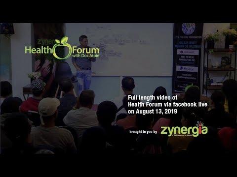 13-august-2019-|-health-forum-via-facebook-live