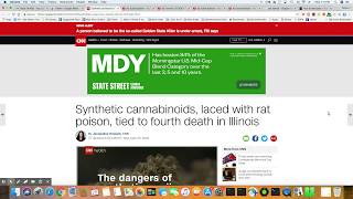Synthetic Cannabinoids Laced With Rat Poison
