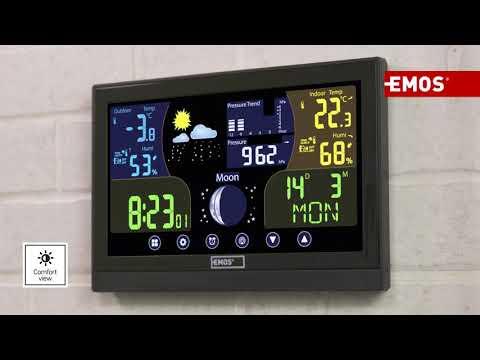 Wireless Digital Weather Station   EMOS E6018