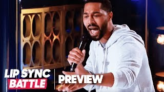 "Tone Bell Transforms Into John Legend for ""Greenlight"" 