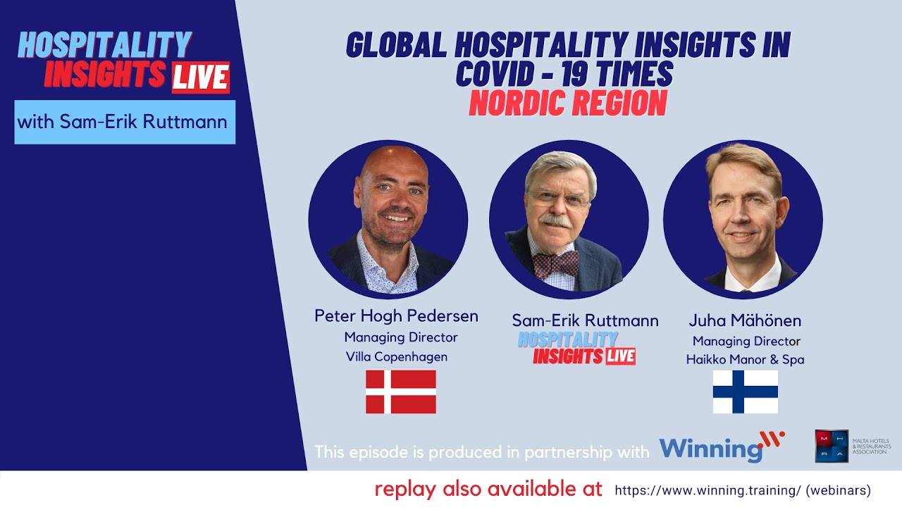 How are two boutique hotels in the Nordic Countries dealing with the challenges during Covid - 19.