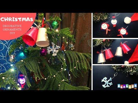 DIY Ideas- How to make Christmas Tree Ornaments