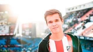 VI ER INDE OG SE ATLETICO MADRID VS BARCELONA!!