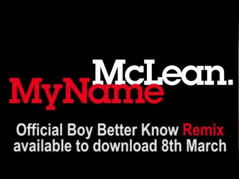 McLean - My Name (Boy Better Know remix) - OUT NOW