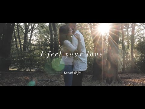 I feel your love - Karthik & Jen engagement shoot // Epping Forest, Essex UK