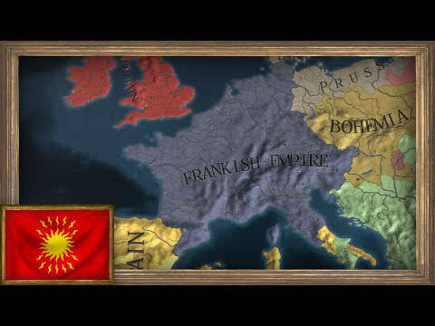 EU4 - Timelapse - Restoring Charlemagne's Empire