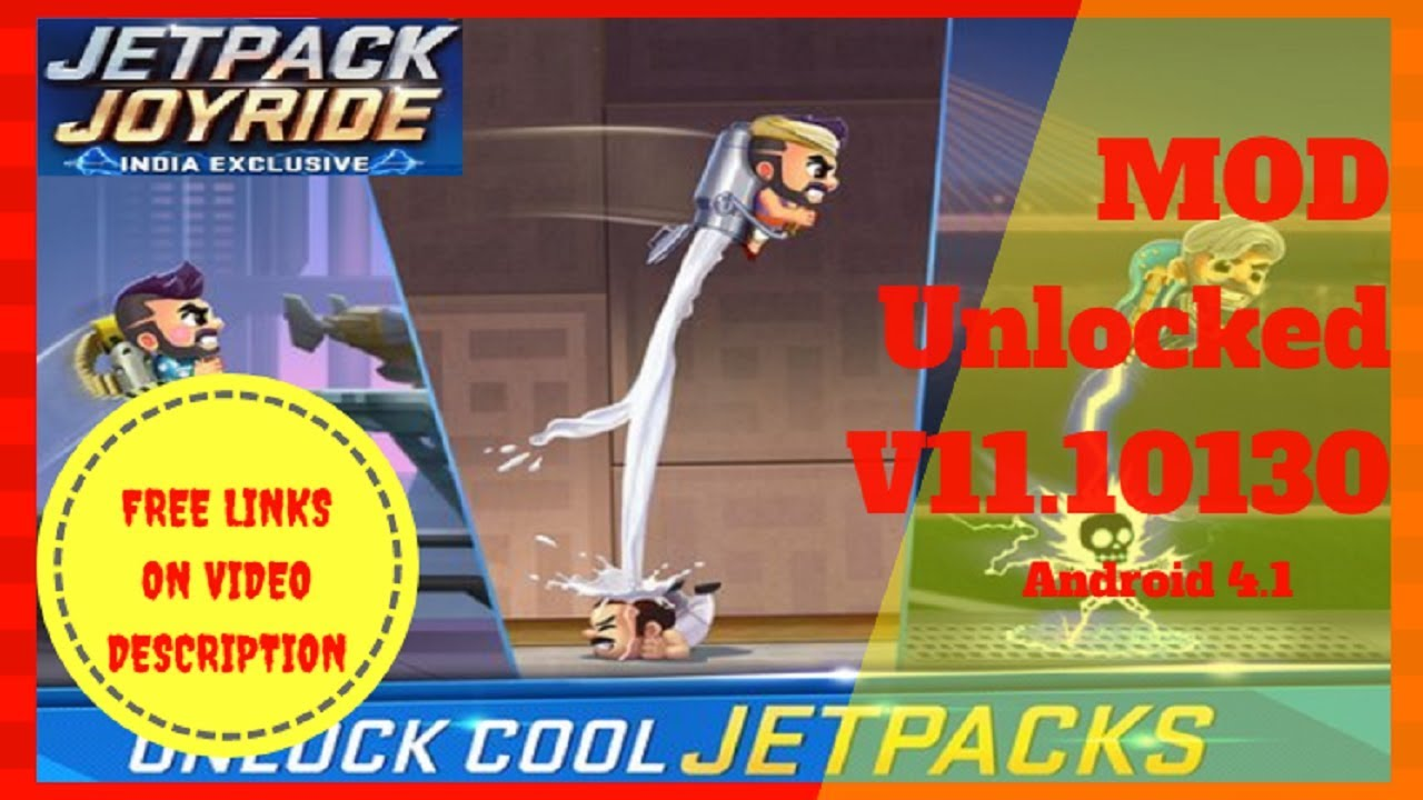 Free Download Jetpack Joyride India Mod Unlocked V11 10130 Youtube