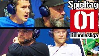 Alles zum 1. Bundesliga-Spieltag live von der gamescom | Saison 2019/2020 Bohndesliga
