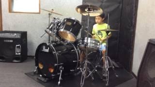 ドラムを習い始めて半年のReito☆。当時9才。大大大好きな嵐の曲に挑戦‼ ...