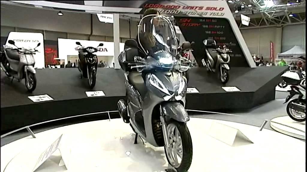 Honda Sh300 Motodays 2015 Youtube