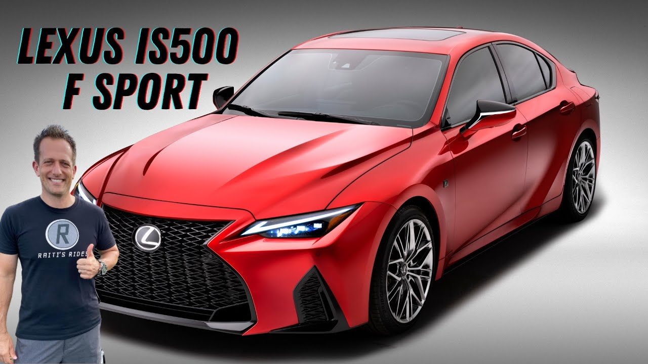 Is the NEW 2022 Lexus IS 500 F Sport a REAL V8 performance sedan to buy?