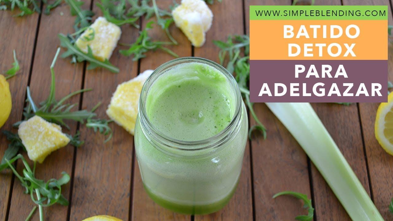 smoothie verde para adelgazar)