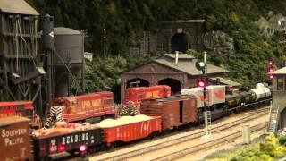 Lehigh Valley Railroad Steam at Lehighton Tower (Lehigh & Keystone Valley Model Railroad Museum)