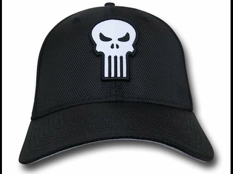 New Era Punisher Skull 3930 Hat - YouTube b3a63eb6664