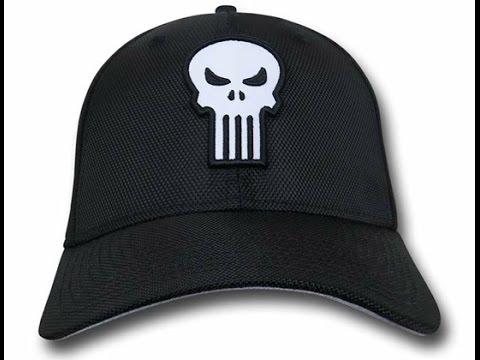 New Era Punisher Skull 3930 Hat - YouTube 312087e2238