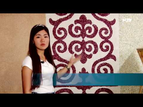 """Жидкие обои Silk Plaster в программе """"Тан Маанай"""" на NTV (Кыргызстан)"""