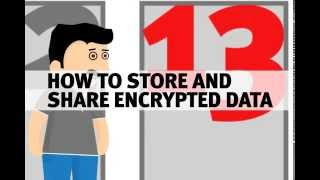 Lesson #13 -- How to Store and Share Encrypted Data