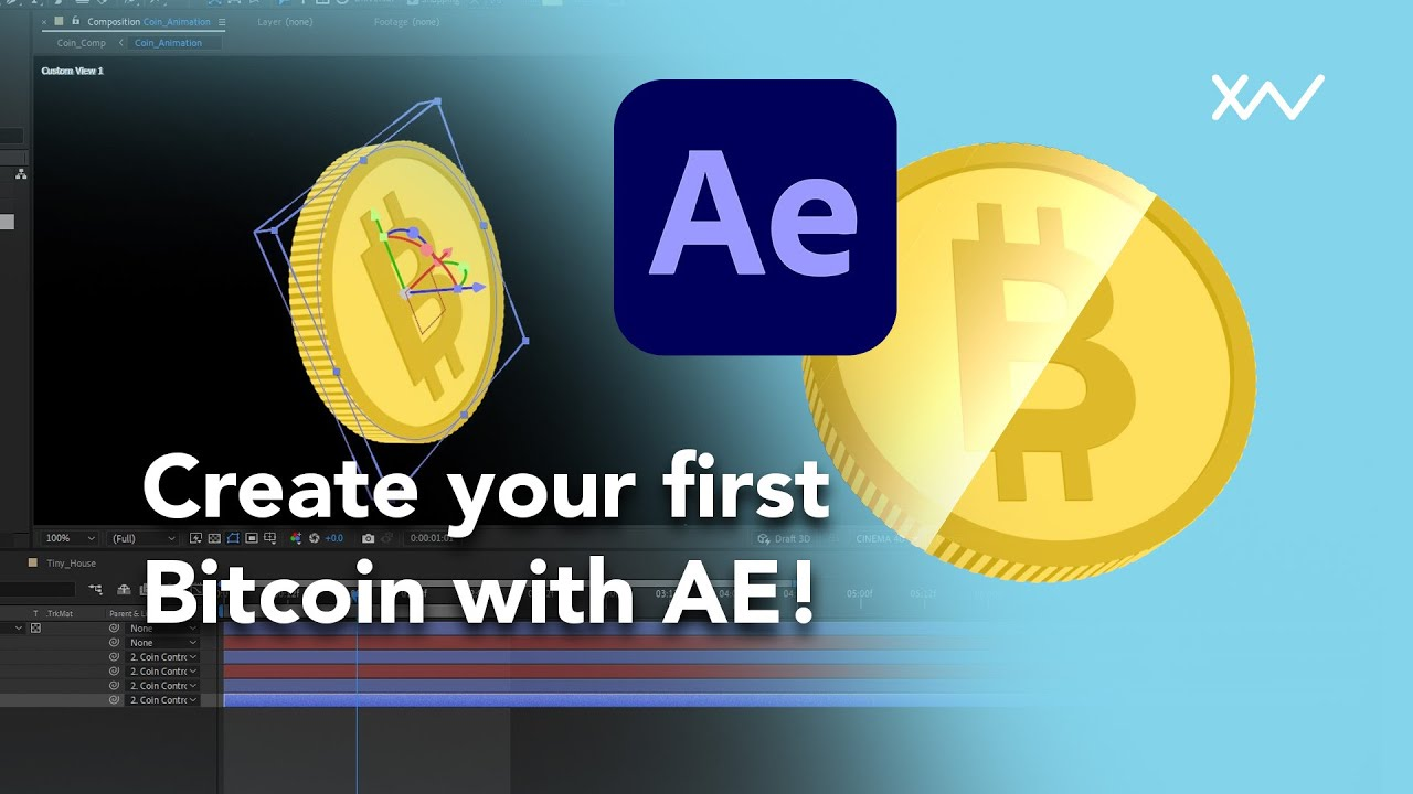 Create a Bitcoin with After Effects!