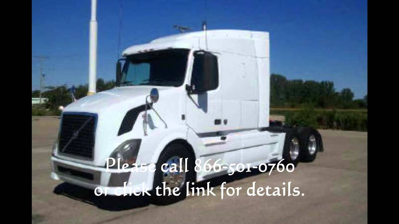 2008 Volvo VNL 630 for sale. Mid roof! - YouTube