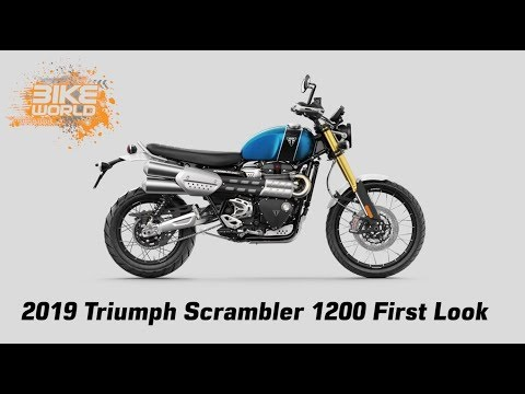 2019 Triumph Scrambler 1200 First Look