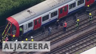 London train explosion being investigated as terrorist attack