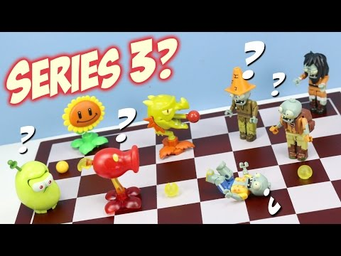 Plants Vs. Zombies K'nex Mystery Packs Series 3 Opening Codes?