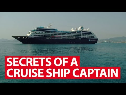 Secrets Of A Cruise Ship Captain | Money Mind | CNA Insider